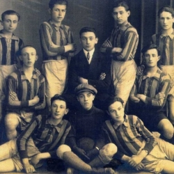 Drużyna piłkarska klubu Makkabu, l. 20. XX w.[zb. D.Sterba]