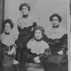 Działaczki suwalskiego Bundu, ok. 1905 roku. [zb,YIVO]